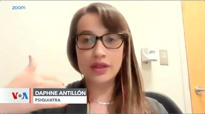Psychiatrist Dr. Antillon
